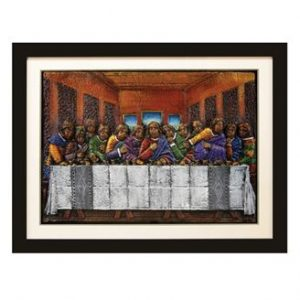 Last Supper Relief Art