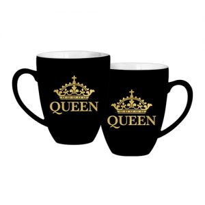 Queen Gold Crown Mug