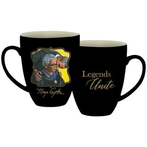 Legends Unite Maya Angelou Mug