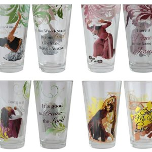 Praise Dancers Drinking Glass Set