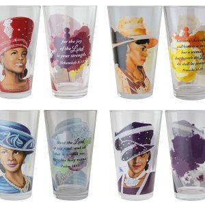 Sunday Morning Drinking Glass Set