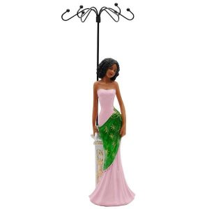 Glamour Jewelry Holder - Pink and Green