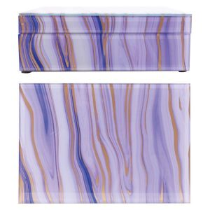 Maya Keepsake Box - Purple