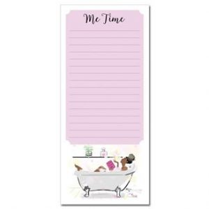 Me Time Magnetic Note Pad