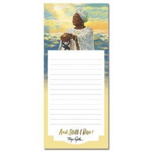 And Still I Rise Magnetic Notepad