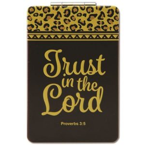 Trust in the Lord Compact Mirror
