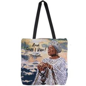 And Still I Rise Maya Woven Tote bag