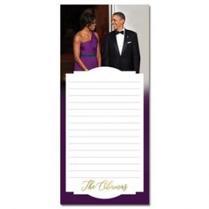 The Obamas Magnetic Note pad